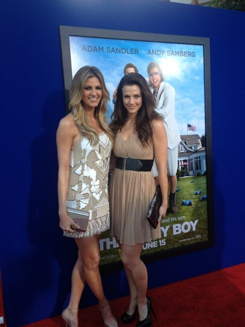 Erin Andrews and her sister Kendra Andrews (Picture) - Fanatic Sports and Cards