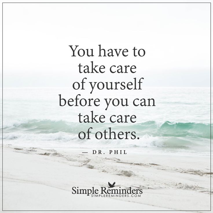 http://www.loalover.com/take-care-of-yourself-first/ - Take care of yourself first