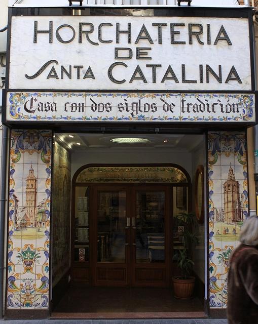 horchateria (miam !!!!) - Valencia (Espagne)