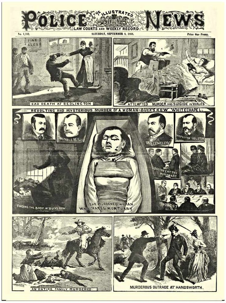 Murder, self-crucifixion & suicide by guillotine: Old-school paper 'The Illustrated Police News' | Dangerous Minds