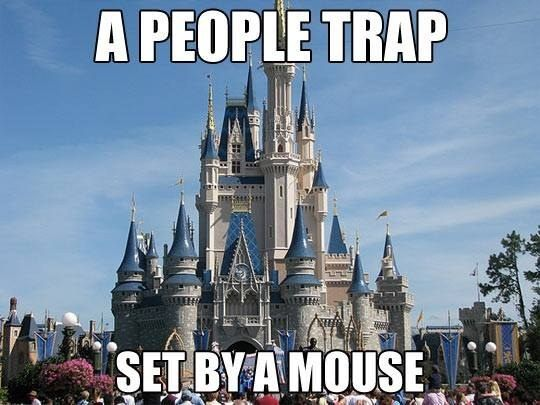 When Disneyland opened. LOL | 31 Times Irony Was Almost Too Ironic