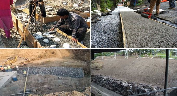 Plum Concrete Usage And Construction Process In 2020 Construction Process Concrete Cement