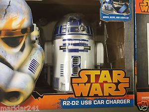 Star Wars R2D2 USB Car Charger #StarWars #R2D2 #USB #CAR #CHARGER #FORSALE #EBAY @EBAY