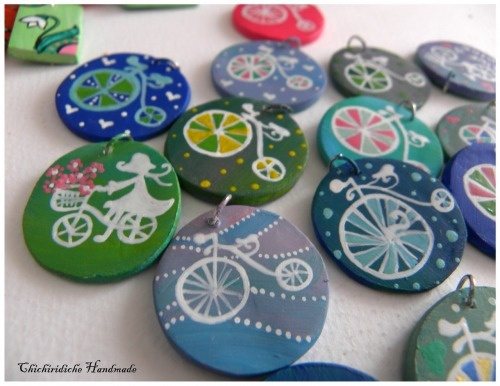 bicycle martisor charms - Chichiridiche