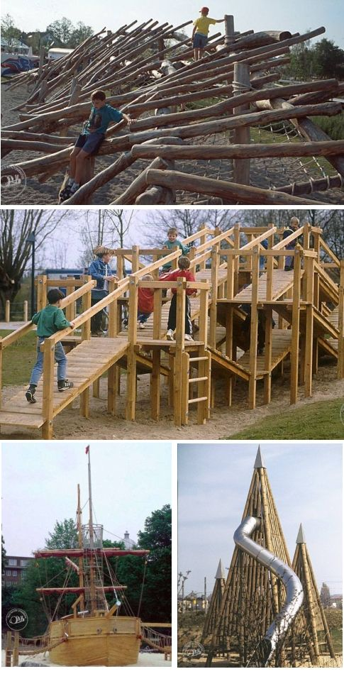 Richter Spielgerate imaginative playscapes playgrounds natural materials