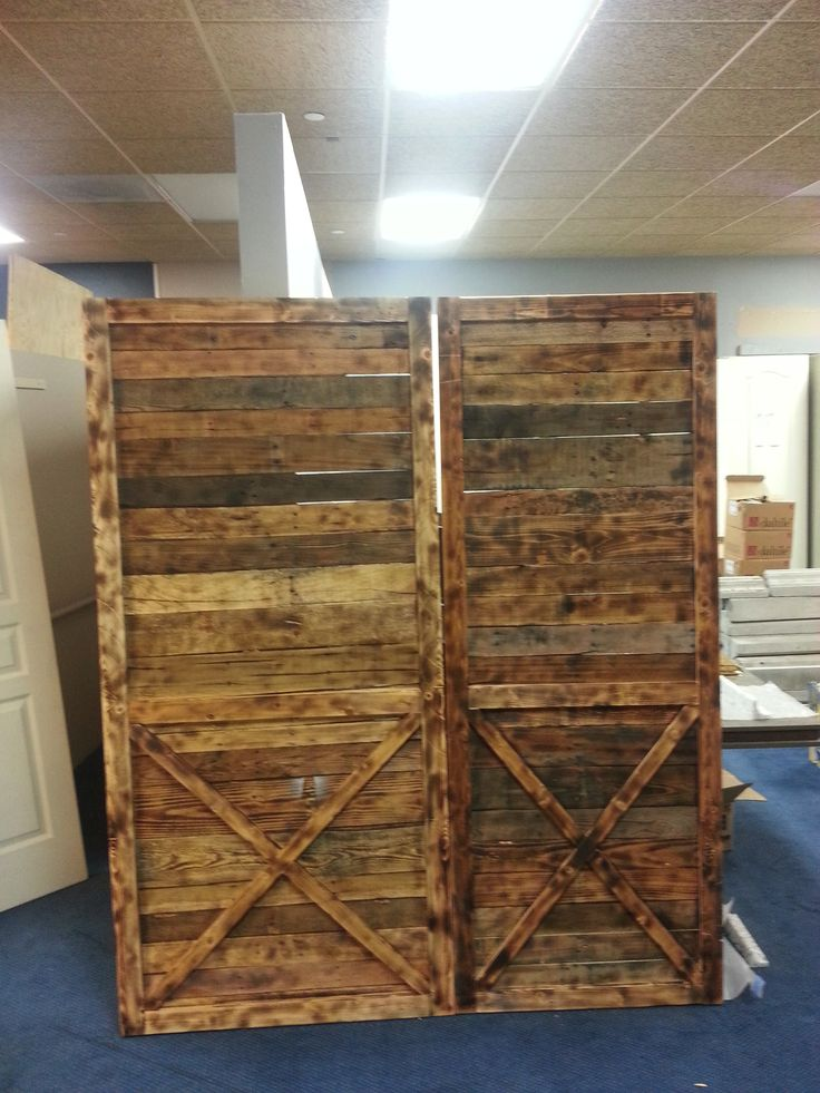 One 36 Quot X 80 Quot And One 30 Quot X 80 Quot Barn Door Built By