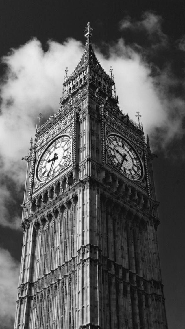 Big Ben #bw @blackwhitepins