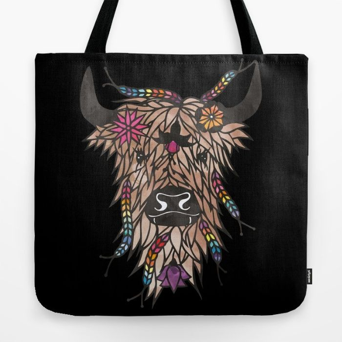 My papercut Highland Cow has just had a little digital makeover, a splash of colour to help brighten up this dark cold January. I've just added him onto my society6 page. Sadly as he now lives far away from me in Scotland, I'm going to order myself a tote bag and mug as a New Years treat ❤️💕