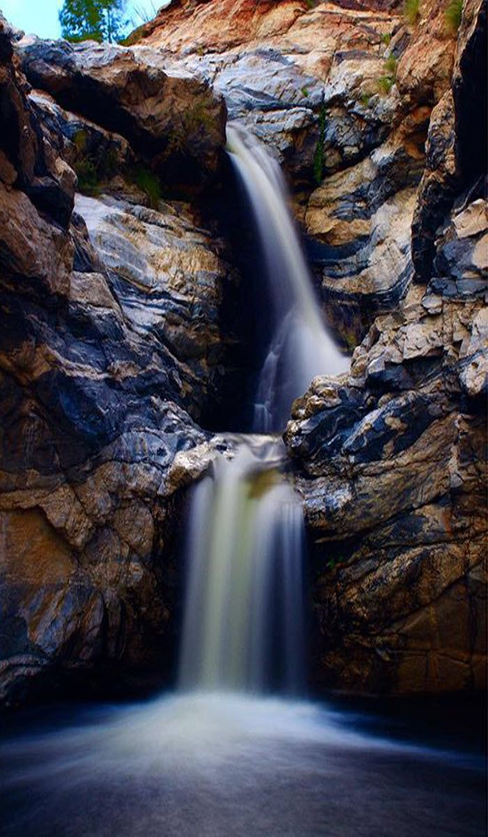 Tanque Verde Falls - When in Tucson, Arizona - experience the great outdoors! (Photo via Instagram by@scottymodd )