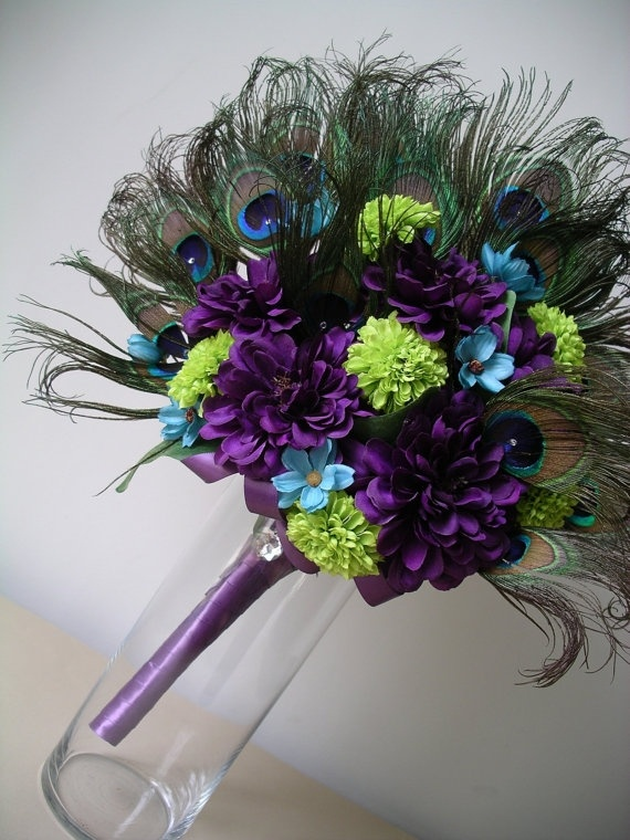 perfect colors and peacock feathers
