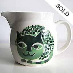 Arabia Finland Cat Pitcher