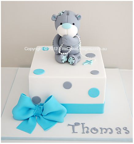 Tatty Teddy Baby Shower Cake Sydney, Baby Shower Cake Designs, Christening Cakes, Specialty Cakes, Teddy Bear Cake