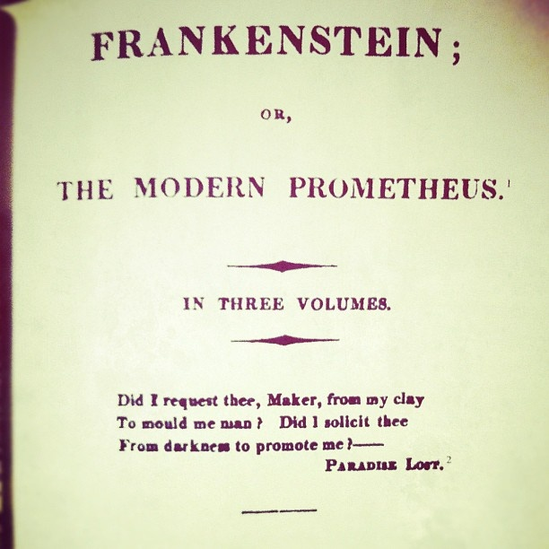 the dark side of science in frankenstein a novel by mary shelley Mary shelley, frankenstein, and the dark side of the heart of shelley's book as victor frankenstein's life draws ignore medical science's dark side.