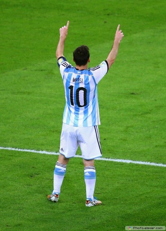 Lionel Messi Argentina 2014 FIFA World Cup Photo Wallpaper J