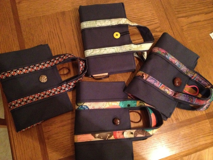 DIY Bible covers with handles