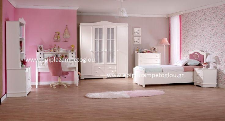 Παιδικό Δωμάτιο Classy (MDF-ΛΑΚΑ)