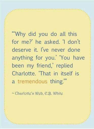 Best Charlotte Web Quotes Images On   CharlotteS Web