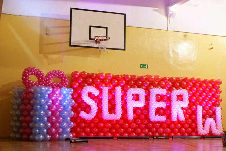 Dekoracje z balonów Ogrodzieniec