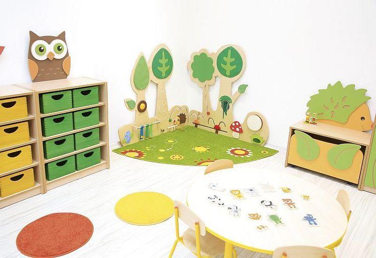 Voor bevestiging aan de muur  2 wandspellen in 1  Stimuleert de motoriek  Voorkomt rondslingeren van speelgoed  Vervaardigd van hoogwaardig en duurzaam MDF  Afmetingen deel 1: 130,5 x 118 cm (deel met egel)  Afmetingen deel 2: 132 x 120 cm (deel met paddestoelen)  Levertijd 2-4 weken  Prijs exclusief speelmatten  De set van 2 speelmatten met grasrand (afmetingen speelmat 133 x 50 x 5 cm) van foam met kunstleer kunnen tegen een meerpijs van 130,- besteld worden. De speelmatten zijn leverbaar…