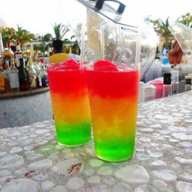 Riviera Maya Cocktail 1 Part Midori 1 Part Orange Juice 1