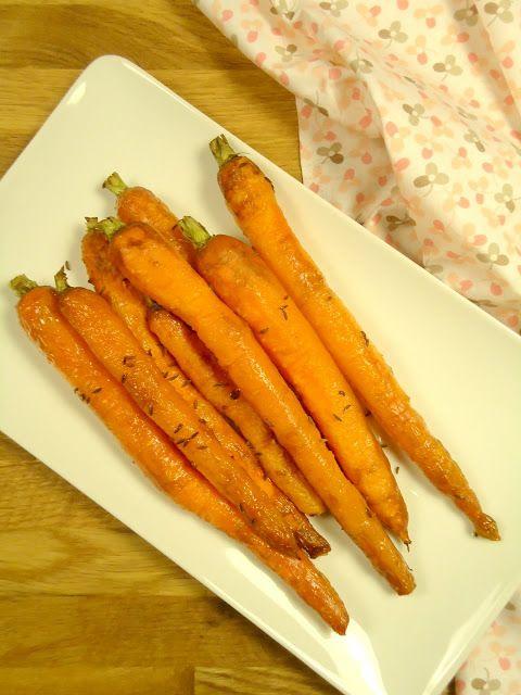Een lekker bijgerecht voor kerst zijn geroosterde wortelen uit de oven.