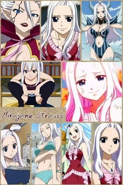 Mirajane Strauss is in my opinion, literally a nightmare dressed as a daydream. What about you?