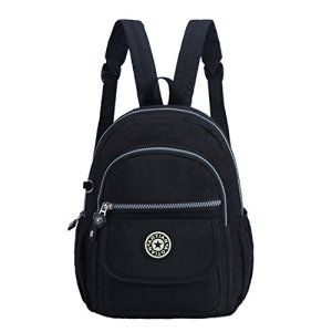 AOTIAN Mini Waterproof Nylon Backpacks. Casual Lightweight Daypack For Girls Cycling, Hiking, Camping and Travel.