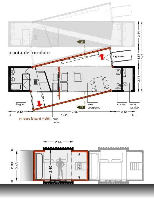 Arquitectura Arkinetia - Baldo Alessandro - Italia - Abitare mokka - unità abitativa prefabbricata