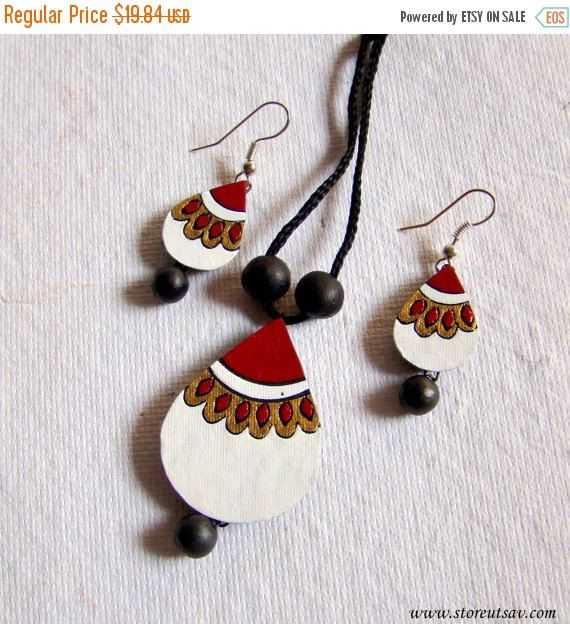 SALE-25% OFF Necklace Set with Earrings by StoreUtsavFashion