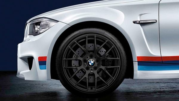 #M #Performance Y Spoke 359 matt black - Single wheel, without tire, rear.  #E82/88 - 1 Series/1M.