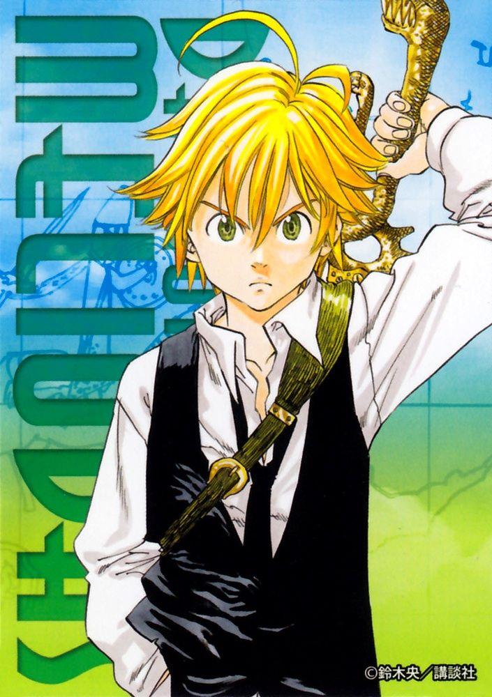 Meliodas Seven deadly sins anime, Seven deadly sins