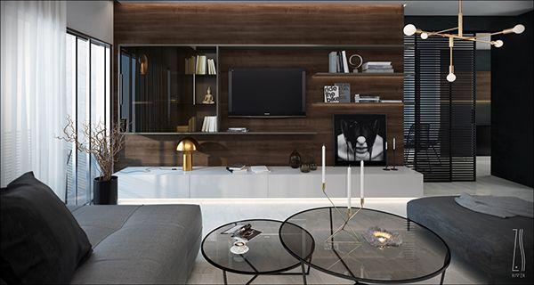 Living room by Z.RIVER.STUDIO