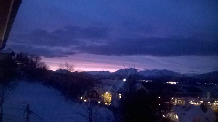Aalesund, Norway. Sunrise.