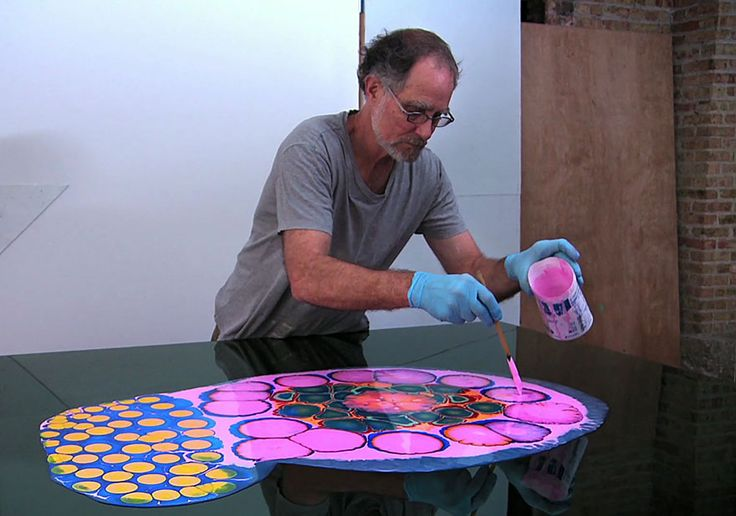 Bruce Riley is a talented Chicago-based artist who creates beautifully psychedelic paintings of...