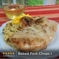 """Baked Pork Chops 