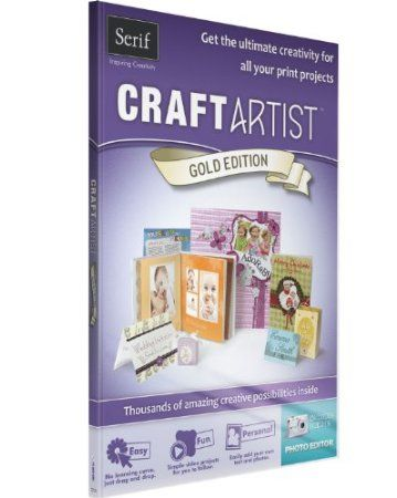 CraftArtist Gold Edition is the all-in-one tool for creating any type of print project. Youll be amazed by how easy the software is to use thanks to its simple drag-and-drop function, plus the beautiful content included will surpass all your expectations! Its packed with templates, graphics and the incredible Craft Artist software - perfect for creating cards, invitations, scrapbooks and loads more at home.    Price: $5.59