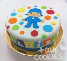 Resultado de imagem para pocoyo cake