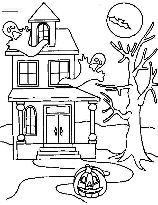 Halloweencoloringpages En 2020 Decoracion De Halloween Casa Decoracion De Halloween Brujas De Halloween
