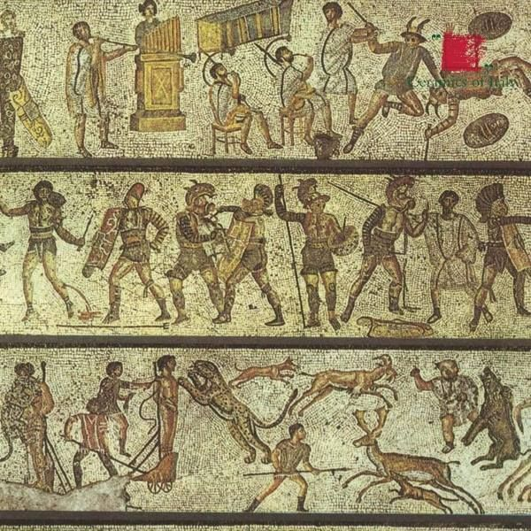 a history of gladiatorial contests in the roman empire The first recorded roman gladiator games were held in 246 bce when marcus and decimus brutus had three matched sets, or ludi, of gladiators fight to the death as a munus, or death offering, at the funeral of their father, junius brutus.