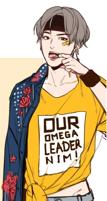 Our Omega Leadernim Taehyung Fanart