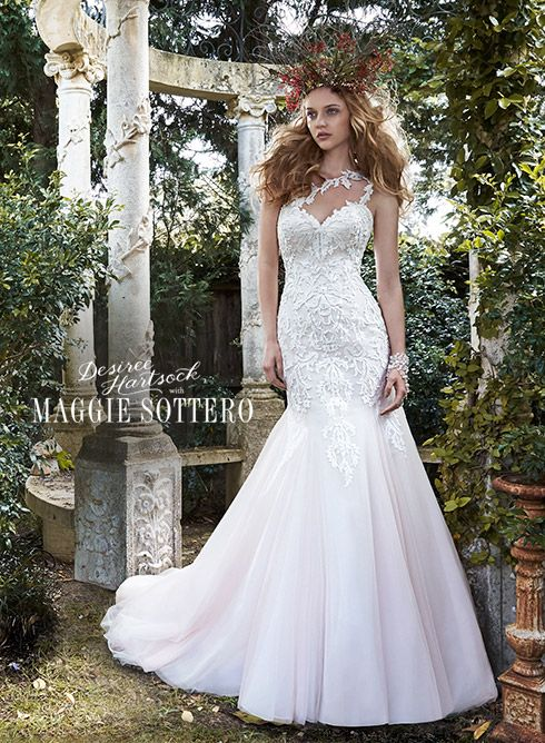 Eve - by Maggie Sottero The dress Desiree Hartsock (Bachelorette) got married in. Love it. One of my favorites ever!