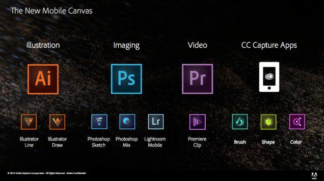 Photoshop, Illustrator y Premiere tienen nuevas apps gratis para iOS