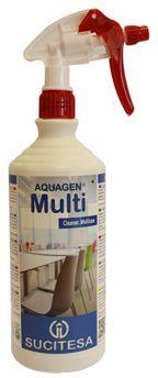 Aquagen Multi solutie multifunctionala cu aroma de trandafiri, uscare rapida.