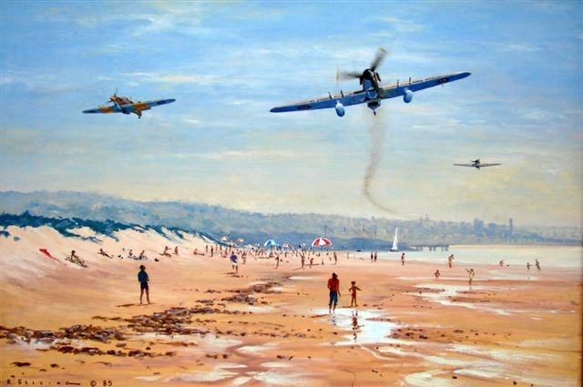 Ron Belling Artist  FAA Military Paintings