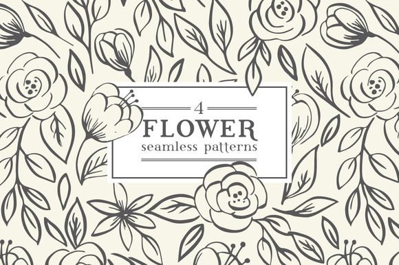 Floral pattern. Roses by Maria Galybina on @creativemarket
