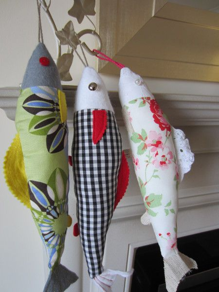 FREE PDF Home Decor Sewing: Something's Fishy| PAP DE LINDOS MODELOS DE PEIXES…