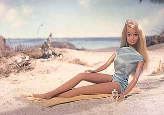"Sunset Malibu Barbie was one of the most important Barbie Dolls of the 1970s. She was sold through 1977 and defined Barbie throughout most of the 70's with her representation of the ""California Girl look""."