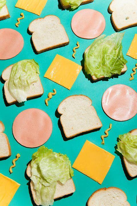 Sanwich arrangement