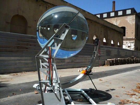 Rawlemon's Spherical Solar Energy-Generating Globe