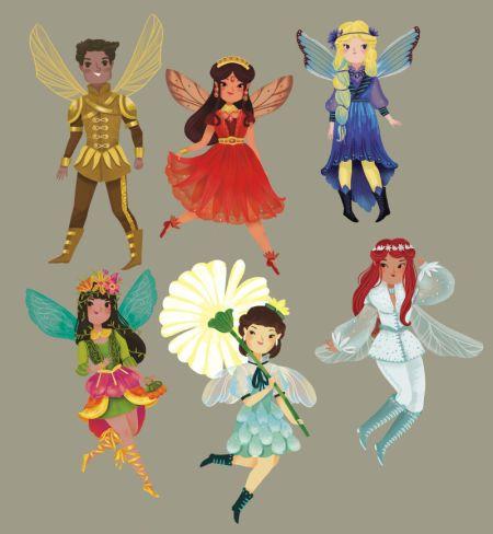 Giovana Medeiros - Fantastical Fairies Characters 1